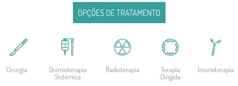 Cancro do Pulmão - Tratamento - Opções de Tratamento